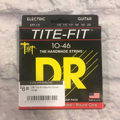 DR Tite Fit Nickel Electric Guitar Strings 10-46
