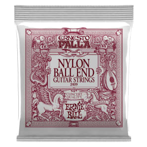 Ernie Ball Ernesto Palla Nylon Ball End Black And Gold for sale