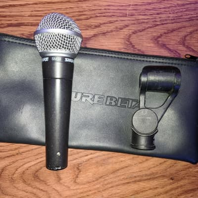 Shure SM58 Dynamic Microphone - With Clip And Carry Case