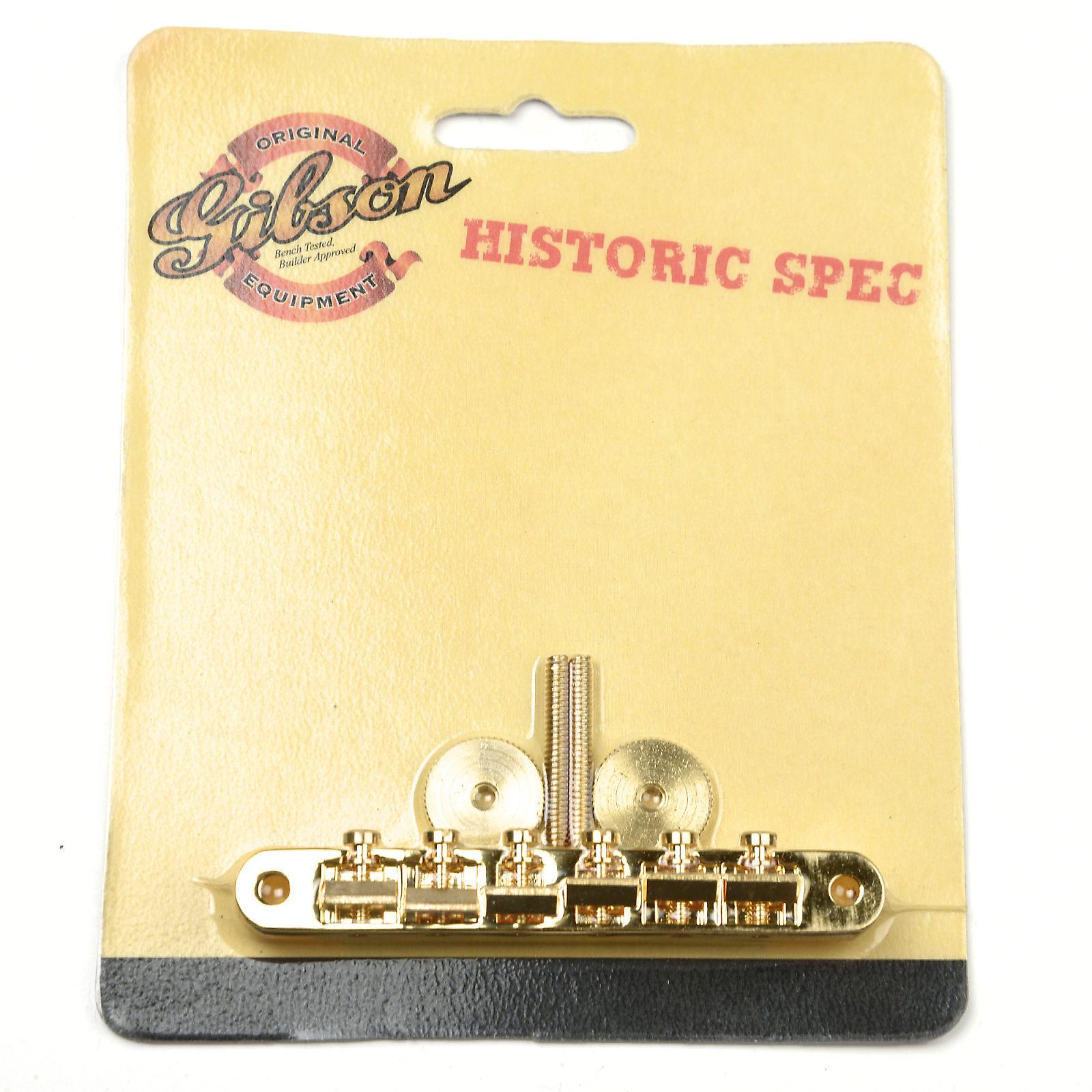 Gibson ABR-1 Historic Non-Wire Bridge Gold