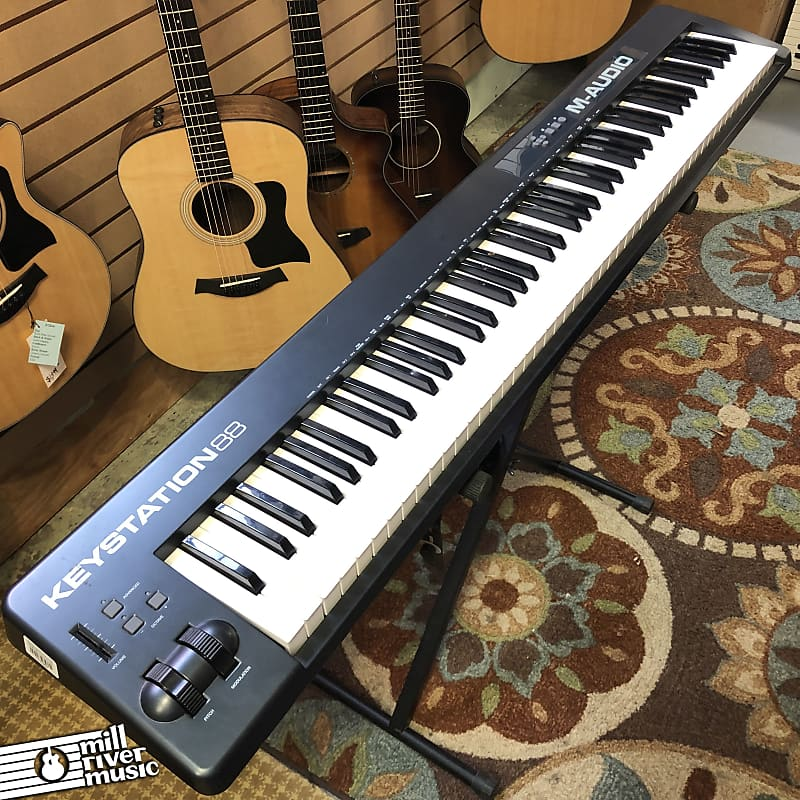 M-Audio Keystation 88 MKII 88-Key USB MIDI Controller Keyboard