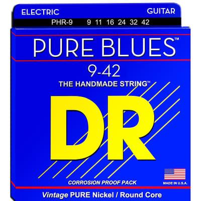 DR Pure Blues Electric Guitar 9-42