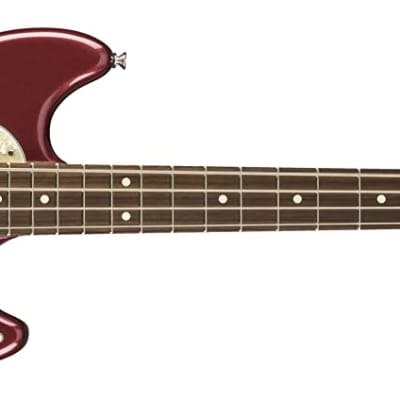 Fender American Performer Mustang Bass with Rosewood Fretboard Aubergine