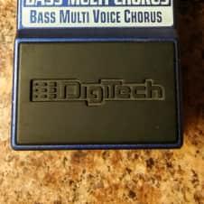 Digitech Bass Multi Chorus 2007 Brlliant Blue