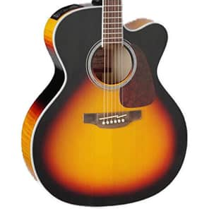 Takamine GJ72CE BSB Jumbo Cutaway Acoustic-Electric Guitar, Sunburst for sale