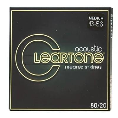 Cleartone 013-.056 MEDIUM 7613 80/20 Bronze Acoustic Guitar Strings 6 PACKS