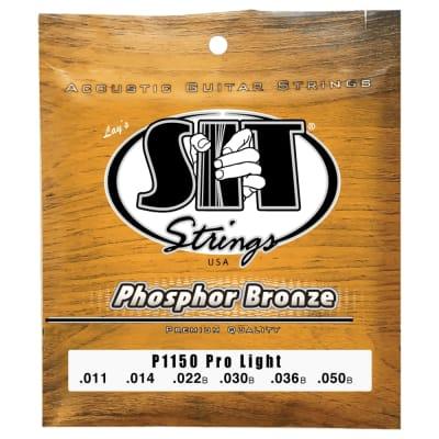 SIT Strings P1150 Pro Light Phosphor Bronze Acoustic .011-.050