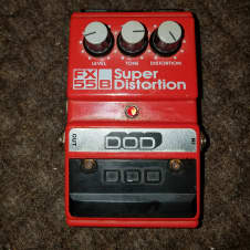 "DOD Super Distortion 80s/ NOT ""SUPRA"". Very very rare lawsuit ver. Great pedal, holy grail of dod Fx"