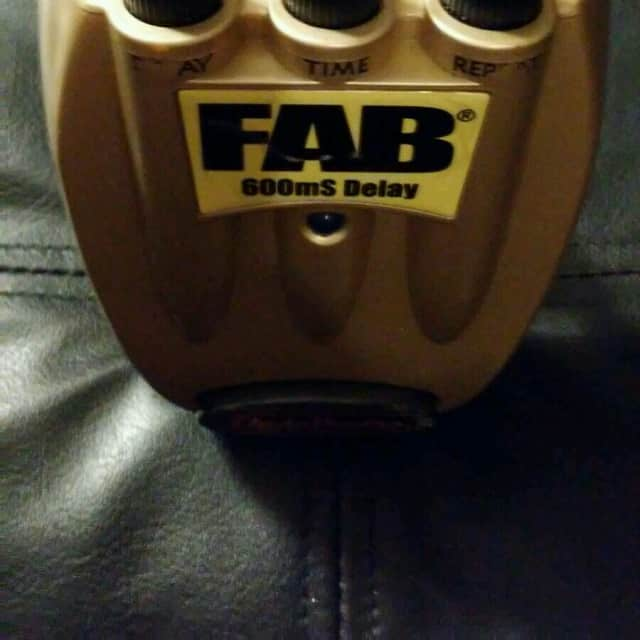 Danelectro Fab Delay 600ms 2005 Gold image