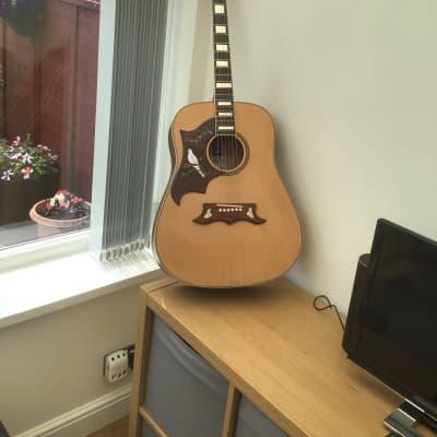Ashton 6 string acoustic New Natural for sale