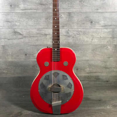 Airline Folkstar Res-O-Glass Resonator  60s Red for sale