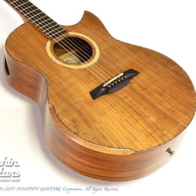 Maestro Guitars Custom Series Raffles KO CSB K (All Pacific Koa) for sale