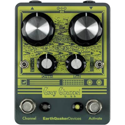 EarthQuaker Devices Gray Channel for sale