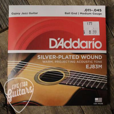 D'Addario EJ83M Gypsy Jazz Strings Med