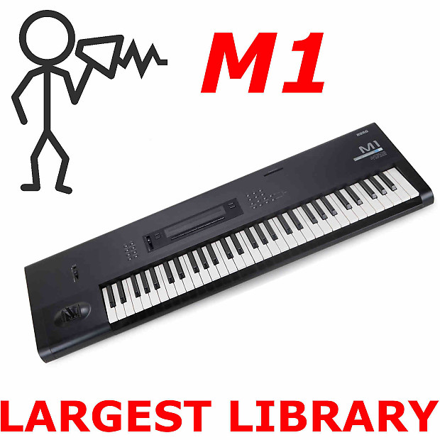 Korg M1 M1rex M1ex VST/AU Legacy 15,000 Sound Patch Program Largest Library