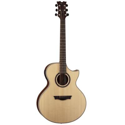 Dean Natural Florentine Cutaway Acoustic-Electric Guitar w/ Aphex