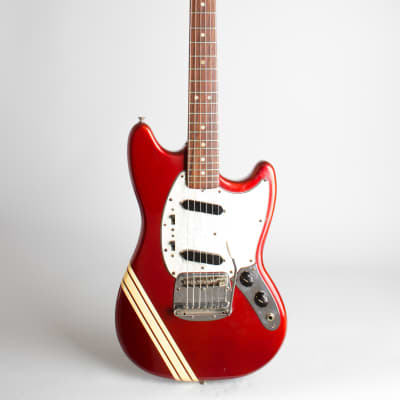 Fender  Competition Mustang Solid Body Electric Guitar (1973), ser. #436174, original grey hard shell case. for sale