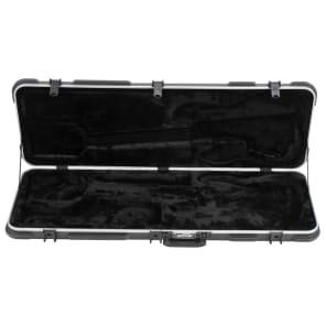 SKB 1SKB-44 Deluxe Electric Bass Rectangular Hard Case w/ TSA Latches
