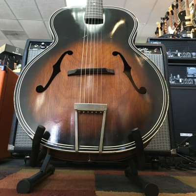 1967 Harmony H1215 Archtop Hollow Body Acoustic Sunburst for sale