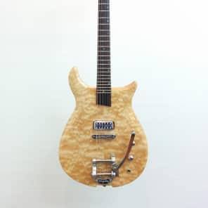 Basone Custom Made Electric Guitar with Soft Gig Bag for sale