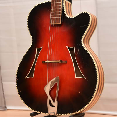 Hüttl Opus 61 – 1962 German Vintage Archtop Master-tier Jazz Guitar / Gitarre for sale