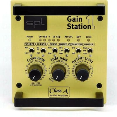 SPL Gainstation 1 AD Preamp +Digital Option+ Neuwertig +Bag+ 1.5 Jahre Garantie