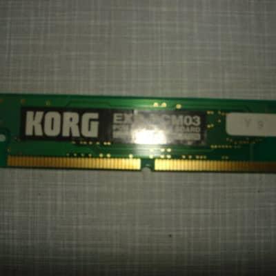 Korg ROM Future Loop Contructions EXB-PCM03 EXB-PCM 3 Karma Triton