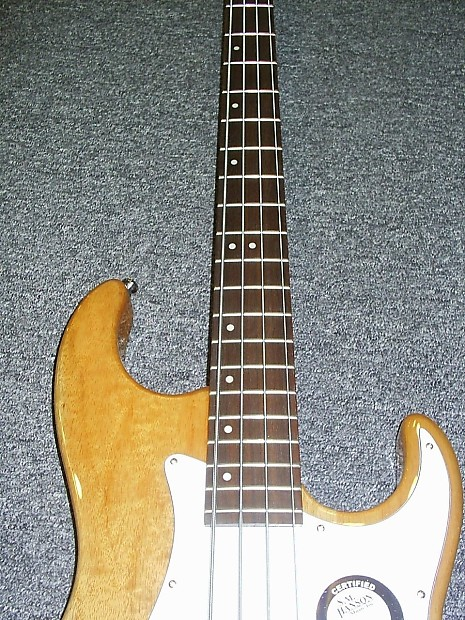 greg bennett made by samick cr1 electric bass guitar in reverb. Black Bedroom Furniture Sets. Home Design Ideas