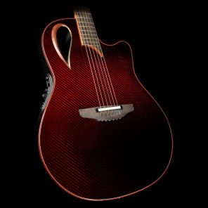 Ovation 2098 Adamas 40th Anniversary USA Limited Run Ruby Gloss