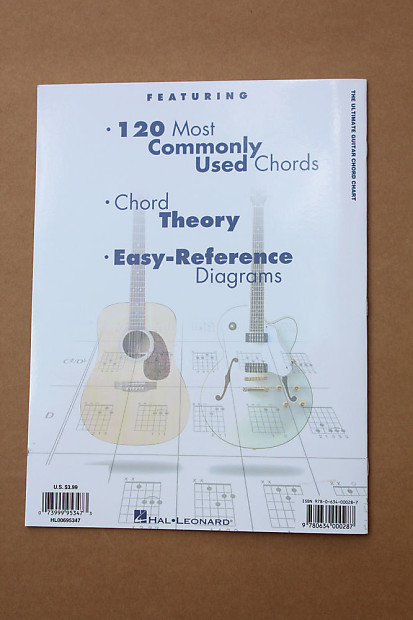 The Ultimate Guitar Chord Chart Hal Leonard Guitar Theory | Reverb