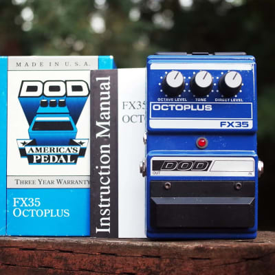 DOD Octoplus FX35 Octave Original Box + Manual for sale