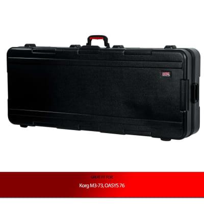 Gator Cases Deep Keyboard Case for Korg M3-73, OASYS 76 Keyboards