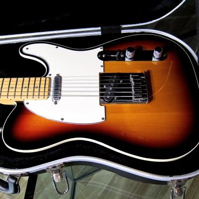 Vintage 1999 Fender American Deluxe Telecaster Electric Guitar Bound Alder Body w Maple Neck & Case
