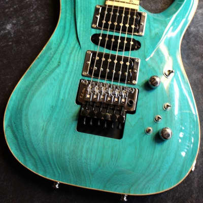 G-Life Guitars DSG Life Ash Bora Bora Ocean Blue #5050 [made in japan][IKE011] for sale