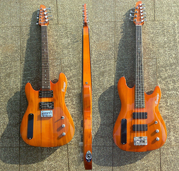 4 string bass 6 string lead double sided busuyi guitar reverb. Black Bedroom Furniture Sets. Home Design Ideas