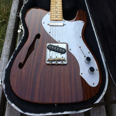 Fender 50th Anniversary Thinline Telecaster MIJ 1996 Mahogany for sale
