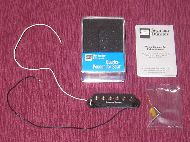 New In Package 2019 Seymour Duncan Quarter