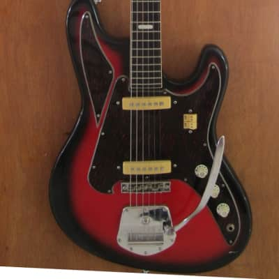 Noble / Tombo EG 450-2 Deluxe 1966 Red Sunburst for sale