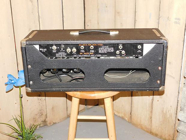 fender pa 100 1973 silverface pa or guitar amp head 100 reverb. Black Bedroom Furniture Sets. Home Design Ideas