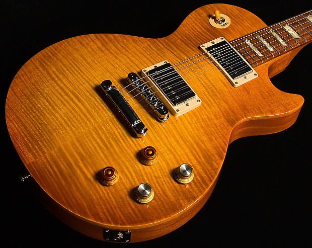 Gibson gary moore les paul standard lemonburst reverb - Gibson gary moore ...