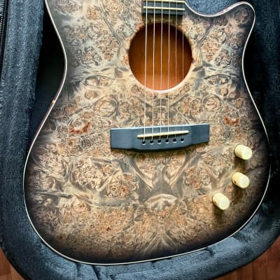 Kiesel AC275 Thinline Acoustic Electric Semi-Hollow for sale
