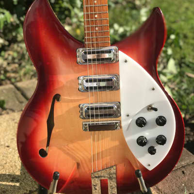 Rickenbacker 1997 SPC Rose Morris Reissue 1998 Fireglo for sale