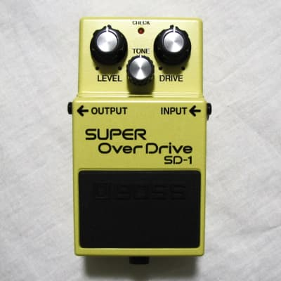 Used Boss SD-1 Super OverDrive Guitar Effects Pedal
