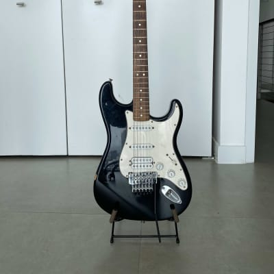 Fender Standard Fat Strat Electric Guitar with Floyd Rose Tremolo for sale