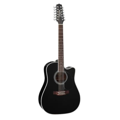 Takamine EF381SC 12-String Dreadnought B-Stock Acoustic Guitar with Case! EF-381 SC