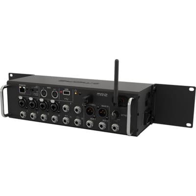 Midas MR12 12-Input Rackmount Digital Mixer for Tablets w/Wi-Fi and USB Recorder