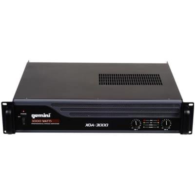 Gemini XGA-3000 Professional 3000-Watt Power Amplifier