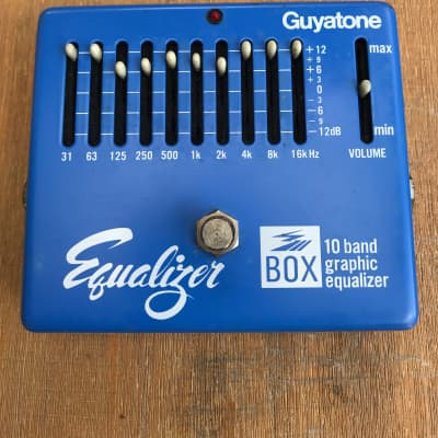 Guyatone 10 Band Graphic Equalizer 1970's Light blue for sale