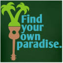 Find Your Own Paradise – Men's Ukulele T-Shirt