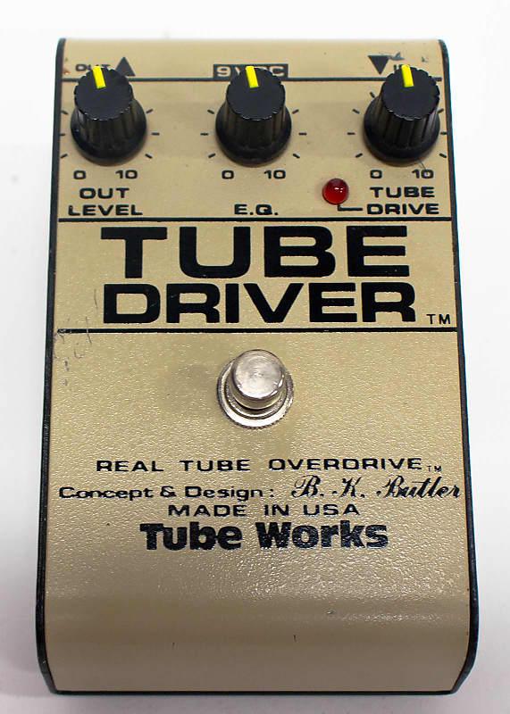 tube works tube driver overdrive by b k butler guitar effect reverb. Black Bedroom Furniture Sets. Home Design Ideas